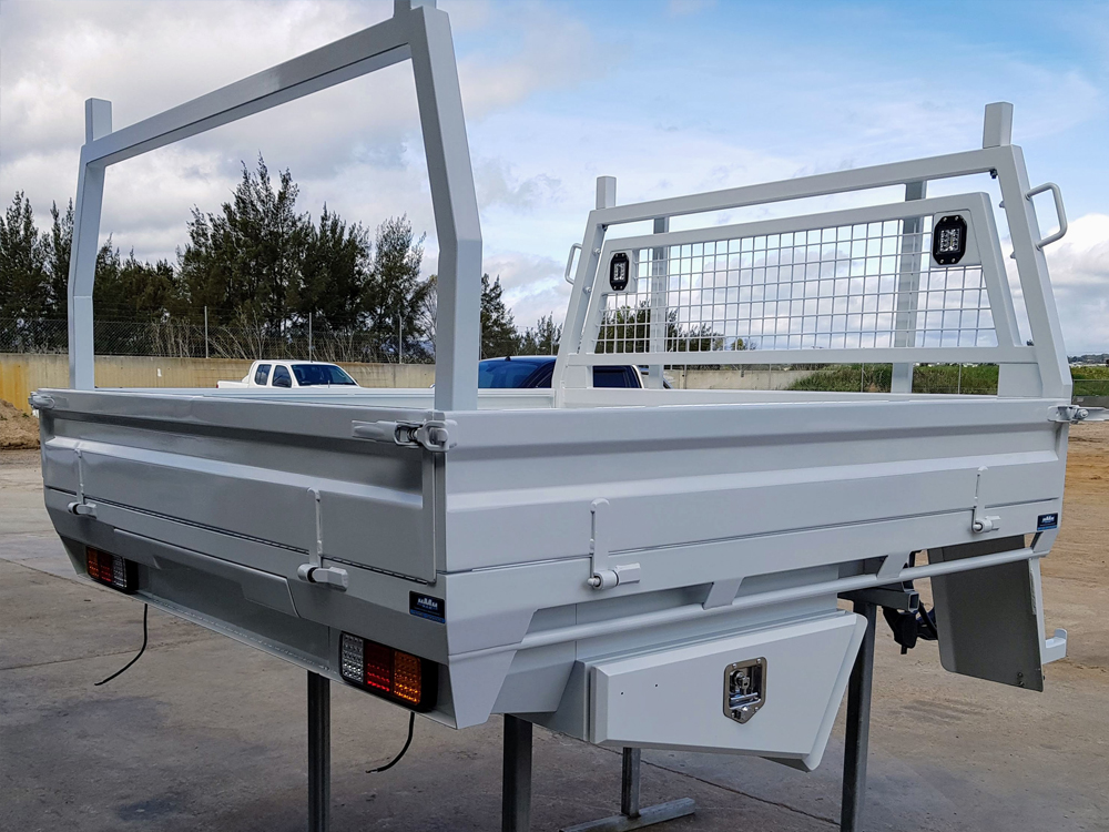 We have experience in customising ute trays with ladder racks, trundle trays, additional fuel/water storage, storage space and more.